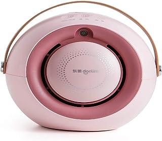 WYXR Calefactor Eléctrico, Mini Calefactor Cerámico Calentador de Espacio Portátil Personal para Cuarto/Baño/Oficina, Oscilación Automática, Protección de Sobrecalentamiento,Viento Caliente
