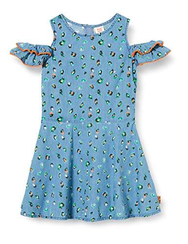 Vestido Denim Estampado NIÑA Azul Party Animal