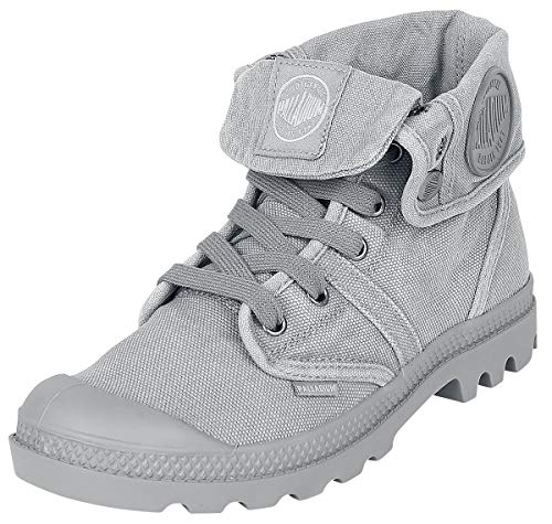Palladium Herren Us Baggy W H Hohe Sneaker, Grau - Grau (Titan / High Rise), 44 EU