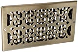 wall and ceiling register - Decor Grates SP612W-A Wall/Ceiling Register, 6 x 12 Inch, Antique Brass