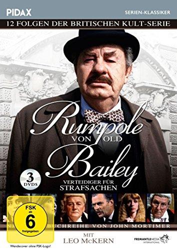 Rumpole von Old Bailey - Verteidiger für Strafsachen / 12 spannende Folgen der preisgekrönten britischen Kultserie mit Leo McKern (Pidax Serien-Klassiker) [3 DVDs]