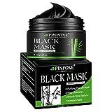 Maschera Nera, Black Mask, Blackhead Remover Mask, Maschera di comedone, Facciale Cura Strappando Stile Pulizia Profonda Pulizia Rimozione Di Comedone Maschera,120ML