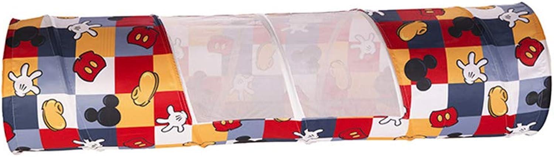 Kinder spielen Zelt Haus Indoor oder Outdoor Garte Pop-up-Spieletunnel Kinder Kinder Katzen Hunde Abenteuer Entdeckung Spielzeug Rohrkriechtunnel für den Innenbereich (48  180CM) Jungen Mdchen