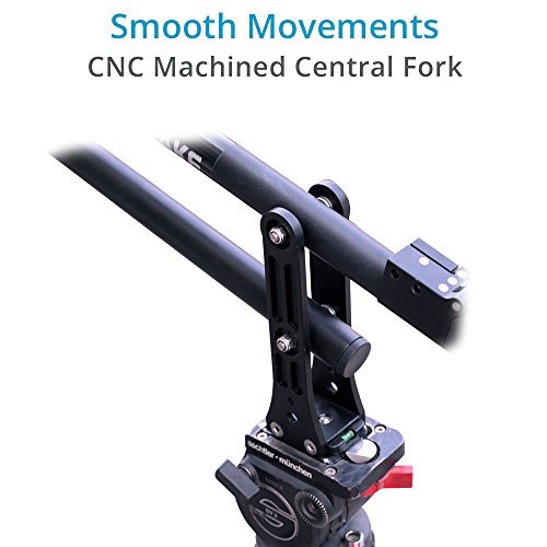 """PROAIM Firstake 6ft/72"""" Compact Camera Jib Arm Crane; Tool-Less, Telescopic & Collapsible, Unique Magnetic Design & Accurate Balancing for DSLR Video Cameras Camcorder up to 4.5kg/9.9lb + Bag (P-FT-J)"""