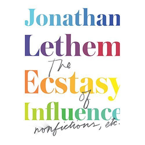 The Ecstasy of Influence audiobook cover art