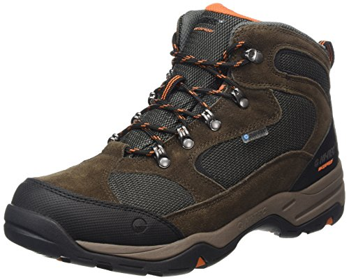 Hi-Tec Storm Waterproof, Botas de Senderismo Hombre, Marrón (Dark Chocolate/DT Taupe/Burnt Orange), 42 EU
