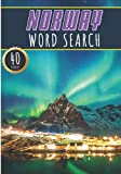 Norway Word Search: 40 Fun Puzzles With Words Scramble for Adults, Kids and Seniors   More Than 300 Norwegian Words On Norway Cities, Famous Place and ... and Heritage, Norwegians Terms and Vocabulary
