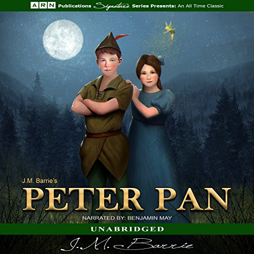Peter Pan                   By:                                                                                                                                 J.M. Barrie                               Narrated by:                                                                                                                                 Benjamin May                      Length: 4 hrs and 32 mins     Not rated yet     Overall 0.0
