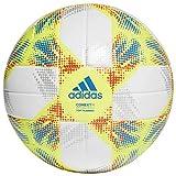adidas CONEXT19 TTRN Balón de Fútbol, Hombre, Top:White/Solar Yellow/Solar Red/Football Blue Bottom:Silver Met, 5