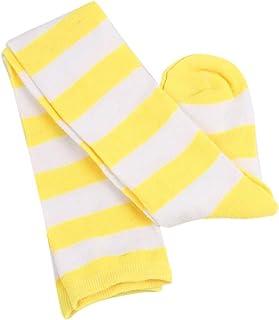 Junshion 1 Pairs Keep Warm Wide Stripes Sock Long Tube-shaped Stocking Comfortable Polyester Socks