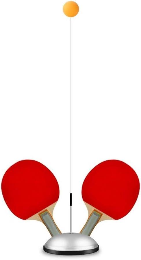 KMDSM Elástica Suave Eje Mesa de Ping Pong máquina de Bolas Entrenamiento, Instructor, Entrenamiento de Auto-Individual Doble Niños Inicio Equipo de la Aptitud