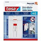 tesa 77767-00001-00 77767-00001-00-Smart Mounting System Removíbles para Azulejo-SMS Clavo Adhesivo Ajustable hasta 3KgAzulejos, Set de 2 Piezas