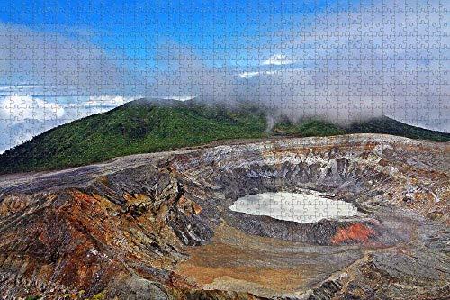 YCCC Puzzle 1000 einzelteile Mountain Puzzles Jigsaw Oufrere Saint Lucia und Kinder ab Puzzle unmögliche sehr