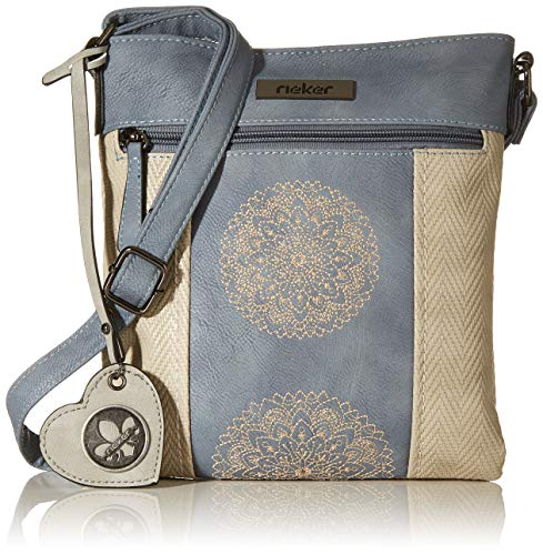 Rieker Handtasche, Sac Main Femme, Beige (Nebel/Adria/Grey), 240x10x220 Centimeters (B x H x T)