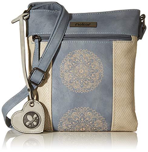 Rieker Handtasche, Bolsa de noche para Mujer, Beige (nebel/adria/grey), 240x10x220 centimeters (B x H x T)