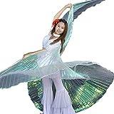 Calcifer, Isis-Flügel für orientalischen Tanz, ägyptisches Tanzkostüm-Zubehör (mehrfarbig und...