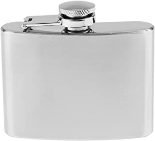 Hip Flask Stainless Steel Pocket Wine Container for Drinking Liquor, Alcohol, Whiskey, Rum, Vodka, Rust & Leak Proof,1/2/ 4/5/ 6/7/ 8/9/ 10/ 18oz - 4oz 100ml