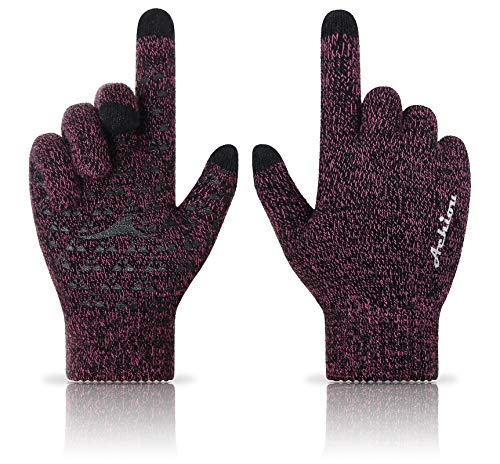 Achiou Winter Knit Gloves