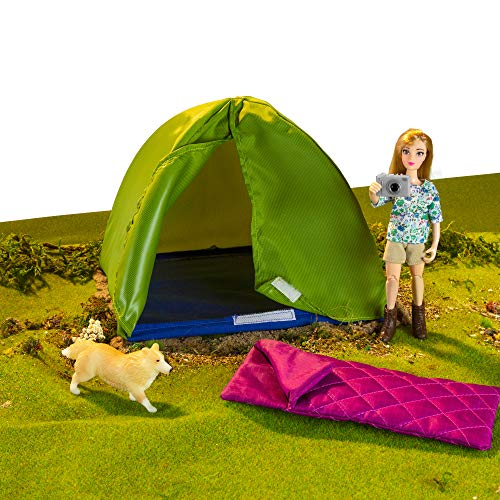 Breyer Freedom Series (Classics) Camping Adventure Set | 5 Piece Play Set | 1:12 Scale | Model #62049