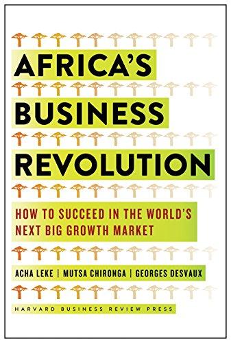 Leke, A: Africa's Business Revolution