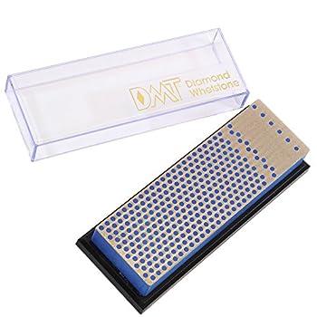 DMT Unisexe 6-in. mécanicien Diamant Aiguiseur Pierre à aiguiser dans boîte en Plastique épais, Bleu