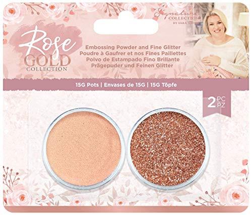 Sara Signature S-RG-EMB-FIGL Rose Gold Collection-Embossing-Puder und feiner Glitzer, Einheitsgröße