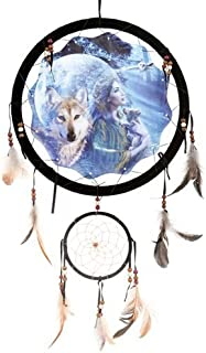 Back to Earth Moonlight Wolf Dream Catcher