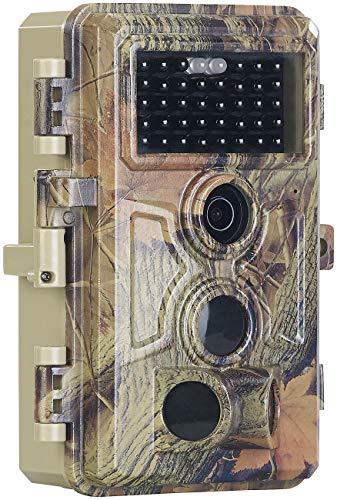VisorTech Wildcamera: Full-HD-Wildkamera, 3 Bewegungssensoren, Nachtsicht, Farbdisplay, IP66 (Fotofalle)