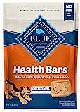 Blue Buffalo Health Bars Natural Crunchy Dog Treats Biscuits Pumpkin & Cinnamon 16-oz bag