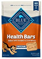 Blue Buffalo Health Bars for Dogs, Pumpkin and Cinnamon, 16-Ounce Bag by Blue Buffalo