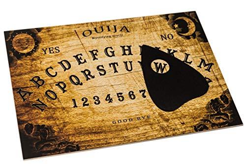 Wiccan Star Hölzernes Ouija Board Brett. Hexenbrett mit detaillierten anweisungen Brettspiel. Spirit Board