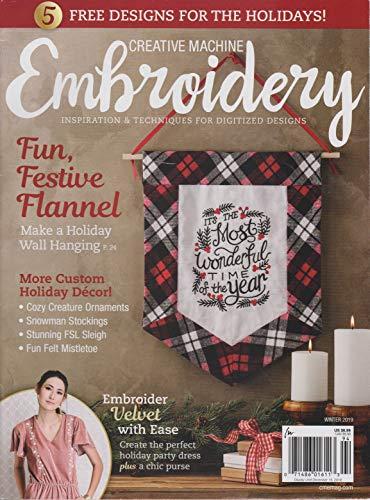Creative Machine Embroidery Magazine Winter 2019