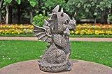 Gargoyle Gartendrache schneidet Grimasse Drachenkind Deko Drache Gartendrache 1756118 - 3