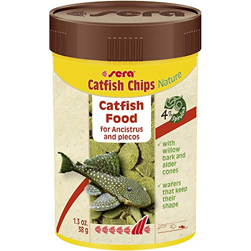 Sera Alimento para Peces Wels Chips Gr. 38–Alimentos Peces