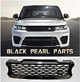 TBJDM Parrilla Central ABS Estilo SVR Adecuado para Autos Deportivos Land Rover Range Rover 2014-2017 año