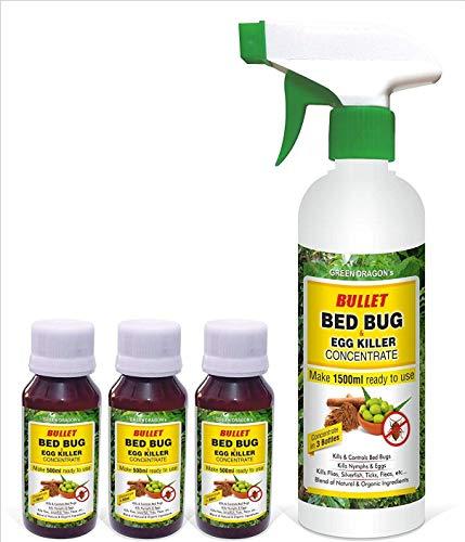 Green Dragon's Bullet Bed Bug & Egg Killer - Make 1500 ml Ready to Use
