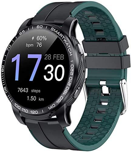Nuevo reloj inteligente para hombre, llamada Bluetooth, presión arterial, 24 horas, frecuencia cardíaca, rastreador de fitness, reloj inteligente multimodo deportivo