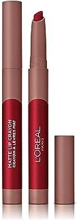 L'Oreal Paris Matte Lip Crayon Lipstick, 113 Brulee Ever