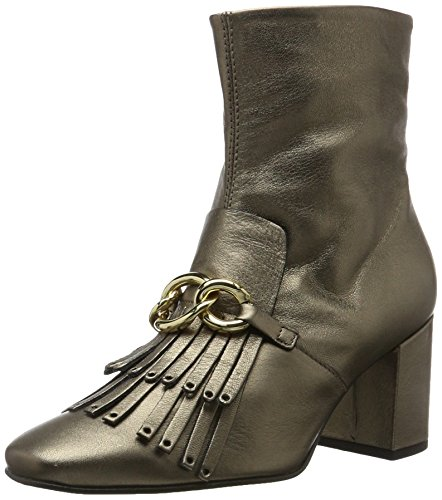 Tosca Blu Shoes Damen SOLDEN Mokassin Stiefel, Gold (ORO Antico), 40 EU