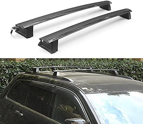 Portapacchi per Tetto Auto - Supporto Rack per Jeep Grand Cherokee 2011-2018, Regolabile e Costante con Cinghie di Fissaggio