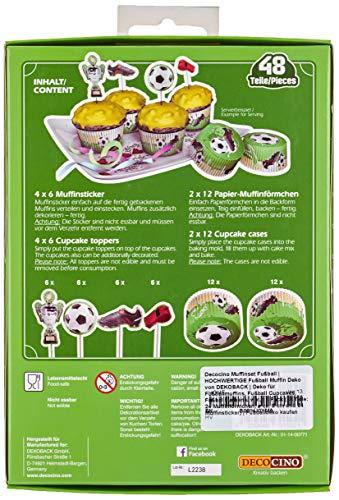 Muffinset Fußball 48 teilig - 2