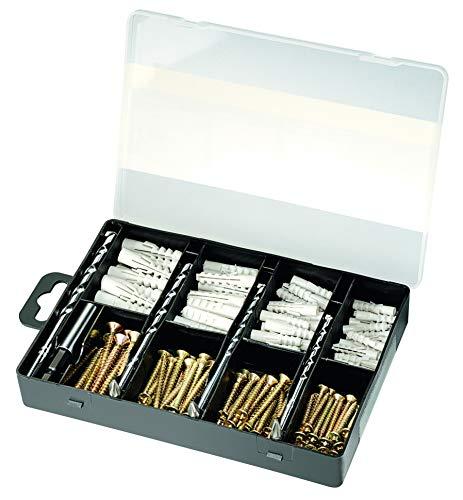 Bosch Accessories - Juego de brocas para taladro y brocas (173 piezas, 210 x 140 x 30)