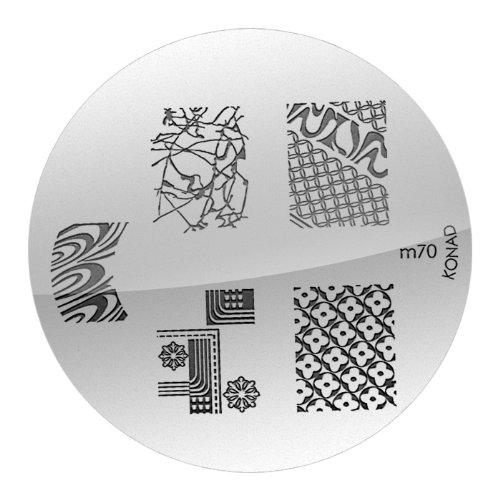 KONAD Stamping Pochoir M70