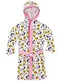Emoji - Robe de Chambre - Licornes et Arcs-en-Ciel - Fille - Blanc - 11-12 Ans
