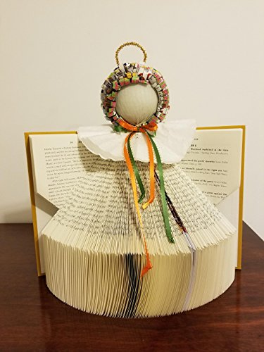 Angel made from books