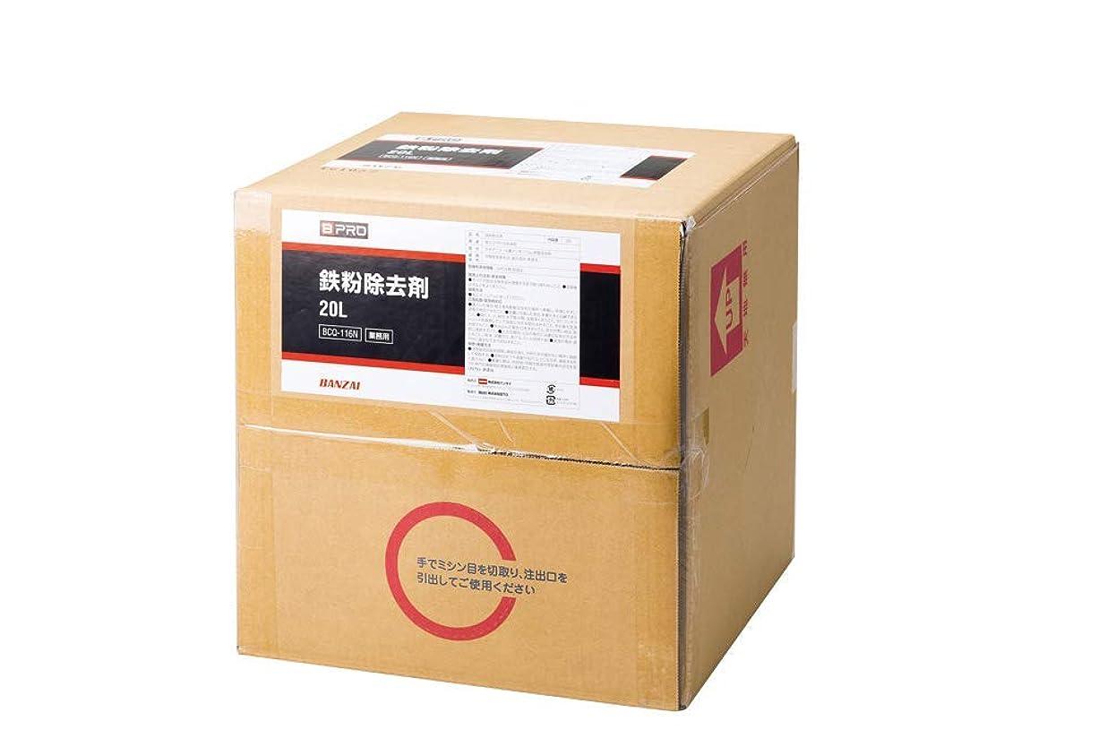 解明理容師フロント【BPRO】 カーシャンプー 「鉄粉除去剤」20L 高濃度 BCQ-116N