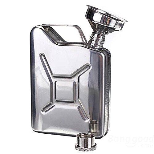Mark8shop Draagbare 50oz RVS Mini Hip Flask Liquor Whisky Pocket Fles met trechter