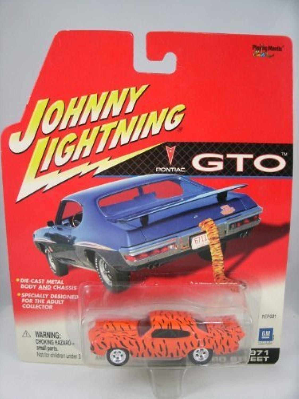 Obtén lo ultimo Johnny Lightning Pontiac GTO 1971 Pro Pro Pro Street naranja by Jugaring Mantis  elige tu favorito