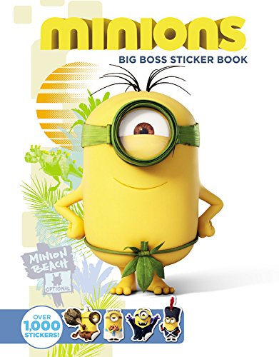 Easy you simply klick minions big boss sticker book book download link on this page and you will be directed to the free registration form after the free