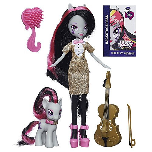 My Little Pony - A3996 - Equestria Girls Toy - Octavia Melody Deluxe Fashion Doll Pony Set - Rainbow Rocks